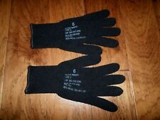 U.S MILITARY STYLE D3A COLD WEATHER GLOVE LINERS 85% WOOL 15% NYLON SIZE X-LARGE