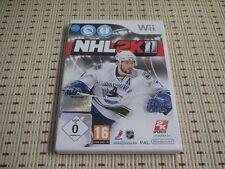 NHL 2k11 para Nintendo Wii y Wii U * embalaje original *