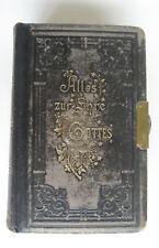 Alles zur Ehre Gottes, Heilige Schrift (ev. Bibel) und Gesangsbuch 1898,1900,