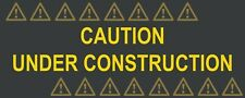 Under Construction 10' x 4' Industrial Retail Display Banner Sign