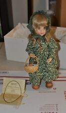 """Anri wood carvings """"Emily 14""""hand carved by Sarah Kay Limited edition 281/750"""