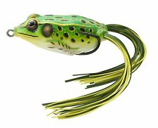 """NEW Koppers Hollow Body Frog Floating 1-3/4"""" Flo Green/Yellow FGH45T512"""