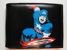 Captain America Decorated Leather Wallet - Day of the Dead - M121
