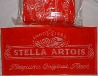 SALE PRICE 10 Ten Pack of Stella Artios Bar Towels - New ONLY £12 PER PACK