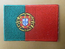 Portugal Portuguese Country Flag Embroidered National Sow Sew On Patch Badge