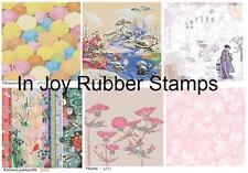 Kodomo Beautiful Japanese 12 x 12 Asian Scrapbooking Paper Vellum Lot #2 14 ct