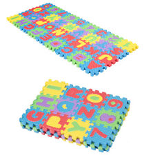 36pcs Soft Eva Foam Baby Play Floor Mat Alphabet Numbers Kids DIY Puzzle Jigsaw
