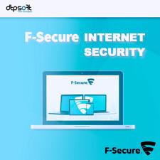 F-Secure Internet Security 2019 1 Appareil 1 Pc | 1 an Antivirus 2018 BE EU