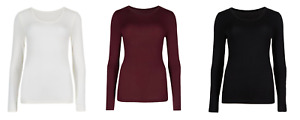 Ex M*S Heatgen Thermal Top Round Neck Long Sleeve All Colours All Sizes