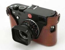 Artisan & Artist protecteur Half Case pour Leica M BOUTONS-m-p (typ240) Comité exécutif. Cuir Marron