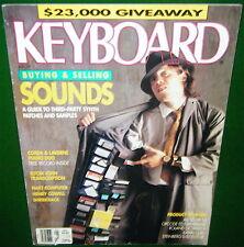1989 Elton John, Weird Al, D-50 Editor Alesis HR-16 KAWAI Q-80 Keyboard Magazine