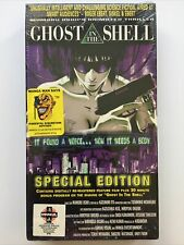 Sealed New GHOST IN THE SHELL VHS 1996 Japanese English Subtitles Anime Manga