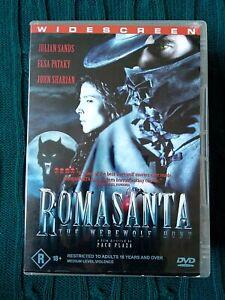ROMASANTA THE WEREWOLF HUNT – DVD - R-4, VERY GOOD, FREE POST WITHIN AUSTRALIA