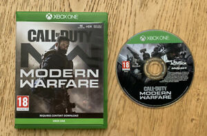 Call Of Duty Modern Warfare Xbox One Game - Excellent Condition