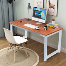 Modern Wooden Computer PC Laptop Desk Study Gaming Table Home Office Bedroom UK
