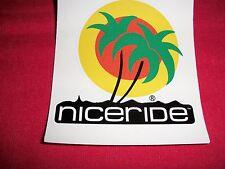 Niceride Apparel Sticker Decal