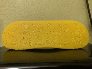 Eyebobs Eyeglasses Hardcase Case Only Yellow  Eyewear EUC