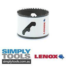 "LENOX 92mm / 3 5/8"" HOLE SAW - LONG-LASTING BiMetal BLADE TECHNOLOGY!"