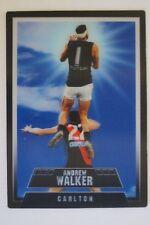 Carlton Blues 2012 AFL Select Screamers 3D Football Card - Andrew Walker