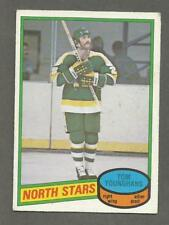 1980-81 O-Pee-Chee OPC Hockey Tom Younghans #343 Minnesota North Stars