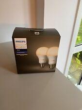 Philips Hue White 2 X Single Bulb E27 Set Brand New And Boxed