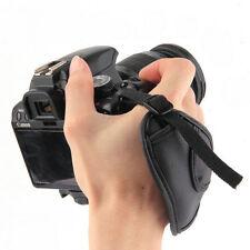 MACCHINA fotografica a mano polso Grip Strap per DSLR Reflex Canon Nikon Pentax Sony Samsung