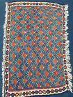 Vintage Handmade Killim Kurdish Seneh