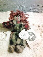 """Boyds Plush Ornaments #56280-02 Molasses, 5.5"""" Tall nwt"""