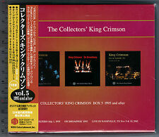 King Crimson, Collectors' King Crimson Box 5 (1995 and after) (Box Set 5 CD_JPN)