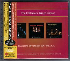 King Crimson, Collectors' King Crimson Box 5 (1995 and after) (Box Set 5 CD_JPN)