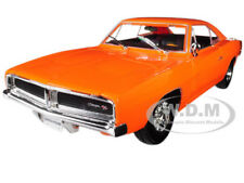 1969 DODGE CHARGER R/T ORANGE 1/18 DIECAST MODEL CAR BY MAISTO 31387