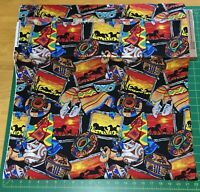 Horses & Pottery Native American Master Artists 100% Cotton Fabric - PICK SIZE