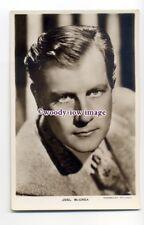 b5120 - Film Actor - Joel McCrea, Paramount No.130 - postcard