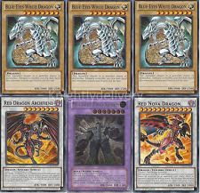 Custom Jack Seto Deck - Blue-Eyes White Dragon - Red Nova Dragon - Yugioh