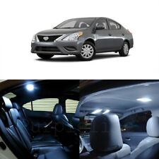 10 x White LED Interior Light Package For 2012 - 2017 Nissan Versa + PRY TOOL