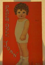 Original Vintage PAPER DOLL JOAN QUEEN HOLDEN - UNCUT