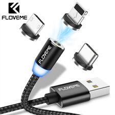 3 in1 USB Magnetisch Ladekabel SCHNELL Kabel Micro USB Typ C für Huawei Samsung