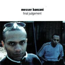 MESSER BANZANI - Final Judgement CD 1999 Reggae Dancehall -Ska RARE Germany