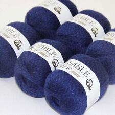 6Ballsx50g Pure Sable Cashmere Hand Knitwear Wool Shawls Soft Crochet Yarn 28