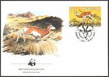 FDC-Sénégal, 1986 WWF, FAUNE, antilope, first day cover