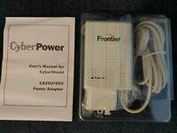 FRONTIER CyberPower Alcatel-Lucent CA25U16V2-WHT 16V 1.6A Power Supply For ONT