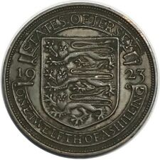 JERSEY ONE TWELFTH OF A SHILLING 1923