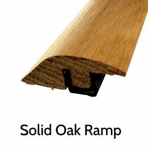 Solid Oak Threshold Door Bar Trims Strip for Wood Flooring Ramp and T bars