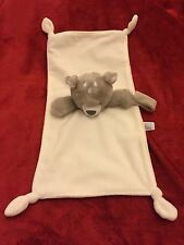Carters Grey Bear Baby Blankie Blanket Comforter Soft Toy