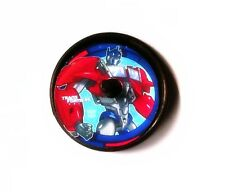 Transformers - 8 Spin Tops -Party Favor  Birthday Supplies Prize Grab Bags
