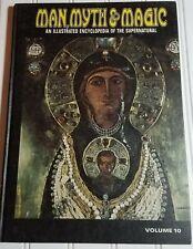 Man Myth And Magic Illustrated Encyclopedia Of The Supernatural Vol. 10 ©1970