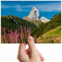 """Matterhorn Switzerland Hills Small Photograph 6"""" x 4"""" Art Print Photo Gift #3458"""