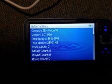 Creative Zen Vision W negro (30 GB) Digital Media Player
