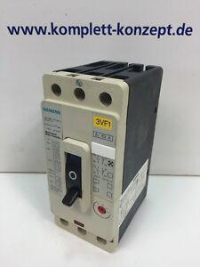 Neu Siemens 3VF1231-1DK11-0AB4 3ZX1012-0VF12-3AA1 Leistungsschalter   OVP