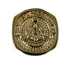 T55 Past Master Rocker Ring Masonic Blue Lodge Mason Noble Square Compass